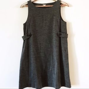 J.Crew Sleeveless Wool Shift Dress Size Medium